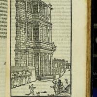 Illustration from B. Gamucci, Le Antichità della Città di Roma, 1580