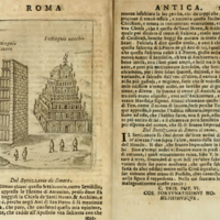 Figure 1. Septizonium entry from de Rossi, Ritratto di Roma Antica, 1654 (source: openlibrary.org).